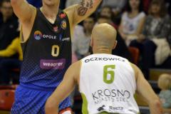 I liga koszykówki Miasto Szkła Krosno - Weegree AZS Politechnika Opolska 05.10.2019 g.ch.  (102)