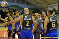 I liga koszykówki Miasto Szkła Krosno - Weegree AZS Politechnika Opolska 05.10.2019 g.ch.  (245)