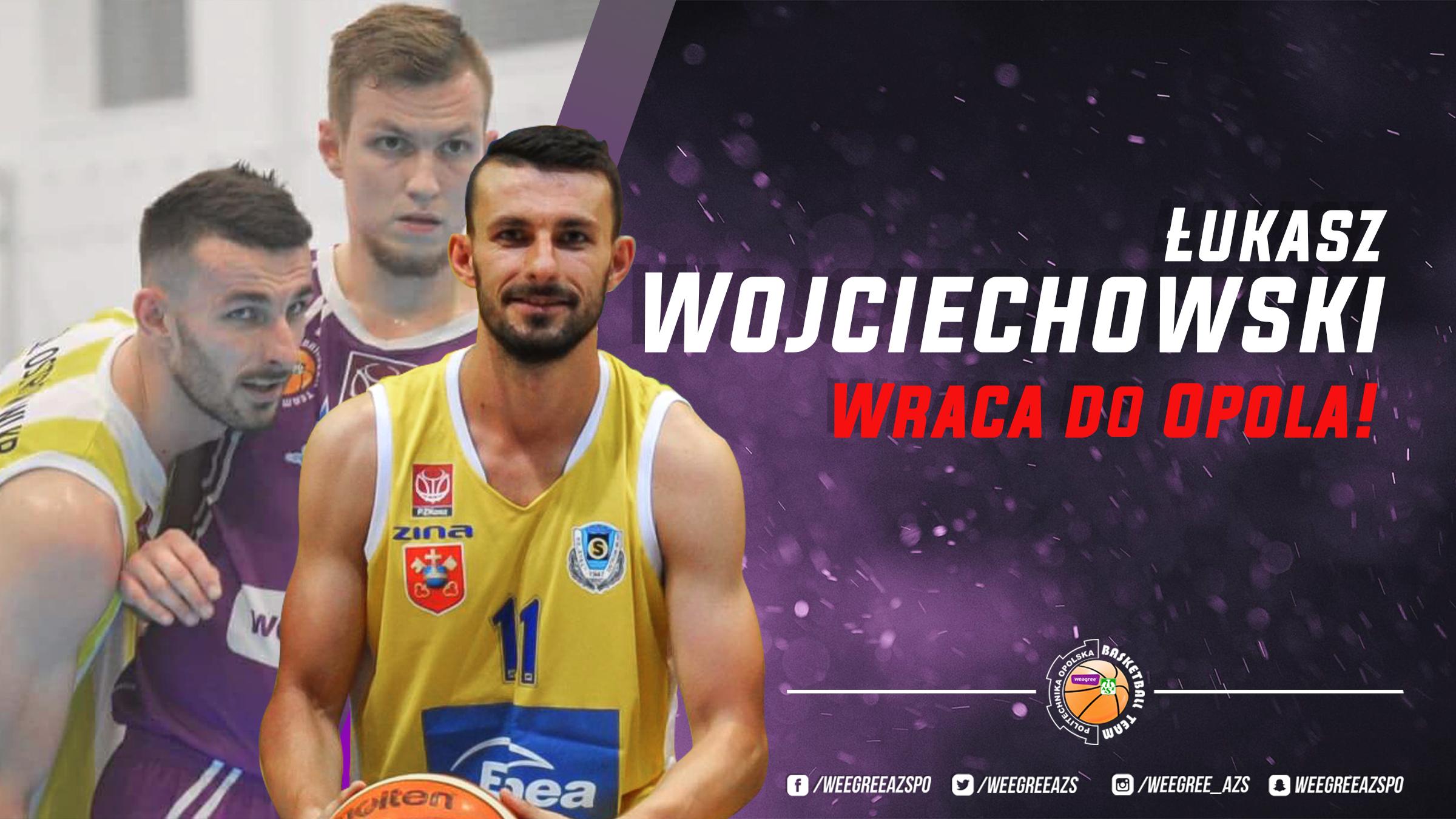 Łukasz Wojciechowski wraca do Opola!