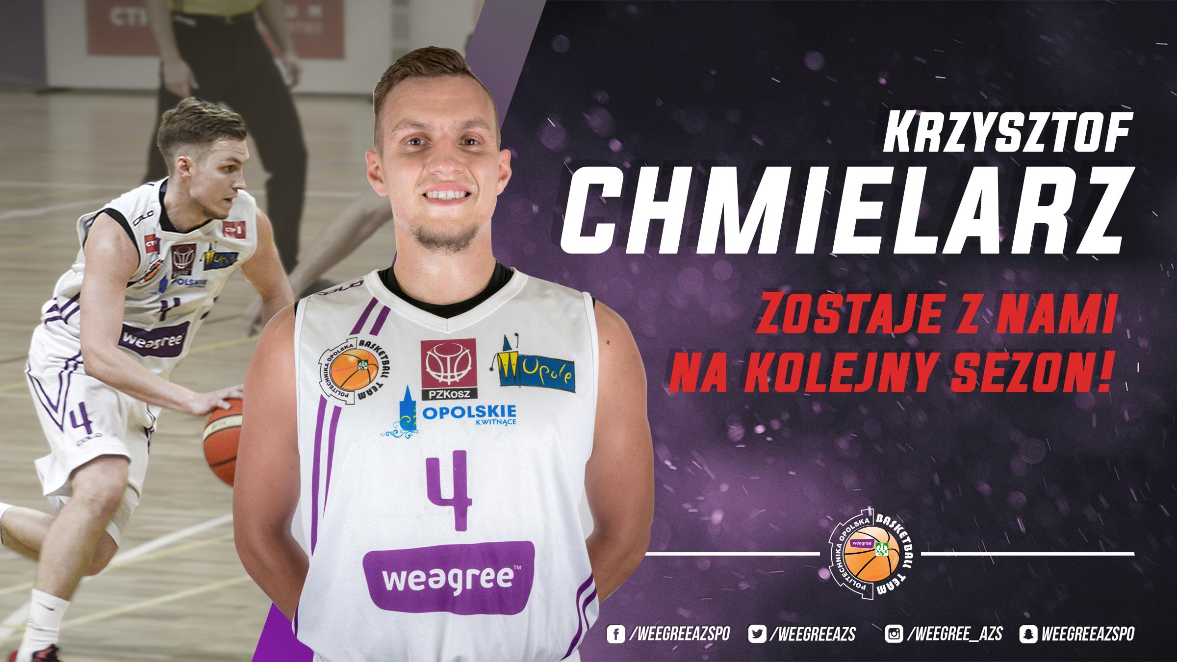 Krzysztof Chmielarz na kolejny sezon w Opolu!